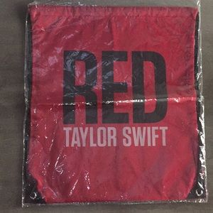NWT Taylor Swift RED bag